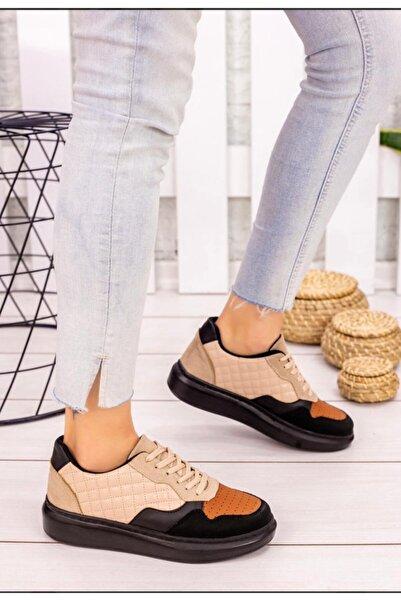 SEÇİL Kadın Siyah Renk Şık Spor Yürüyüş Ayakkabısı