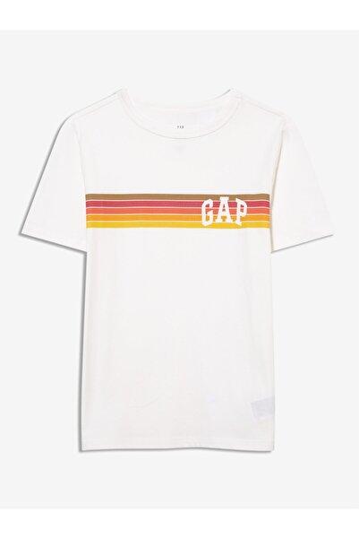 GAP Erkek Çocuk Logo Kısa Kollu T-shirt