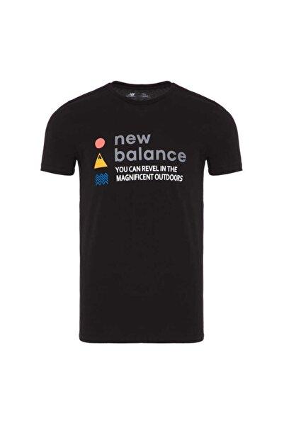 New Balance Erkek Siyah Tişört Mpt1117-bk Mpt1117-bk