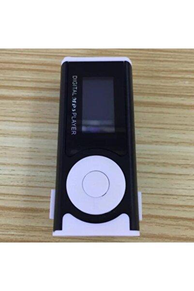 JUNGLEE Dijital Ekranlı Mini Mp3 Çalar El Fenerli Müzik Çalar Hafıza Kartı Girişli