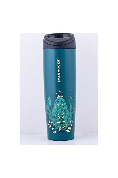 Starbucks Unisex Yeşil 50. Yıl Özel Seri Termos 473 ml