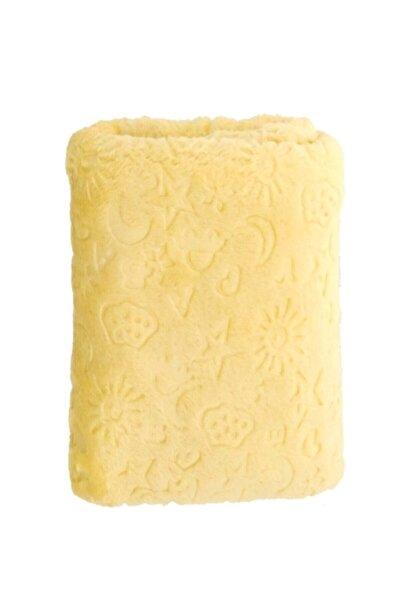 Bahar Sarı Bebek Battaniyesi 100*120
