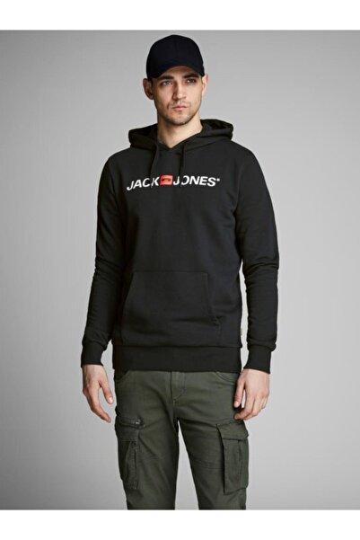 Jack & Jones Erkek Siyah Essentıals Sweatshirt