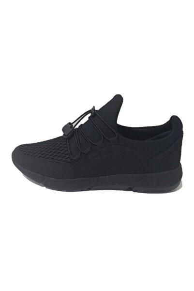 G-CLASS Erkek Siyah Rahat Ortopedik Spor Ayakkabı