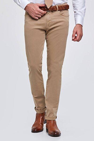 Hemington Erkek Camel Slim Fit 5 Cep Pantolon
