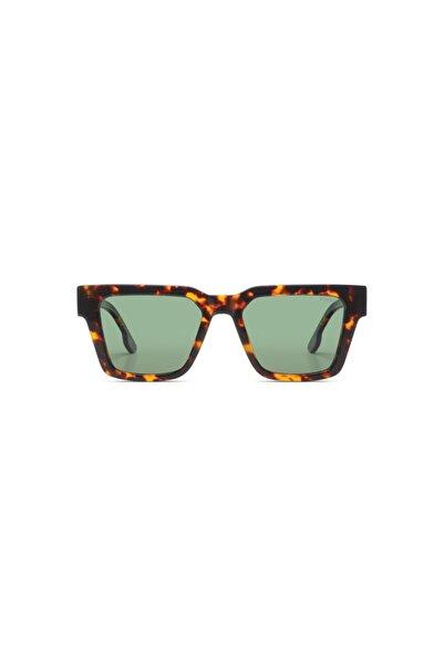 Komono Unisex Kahverengi Güneş Gözlüğü