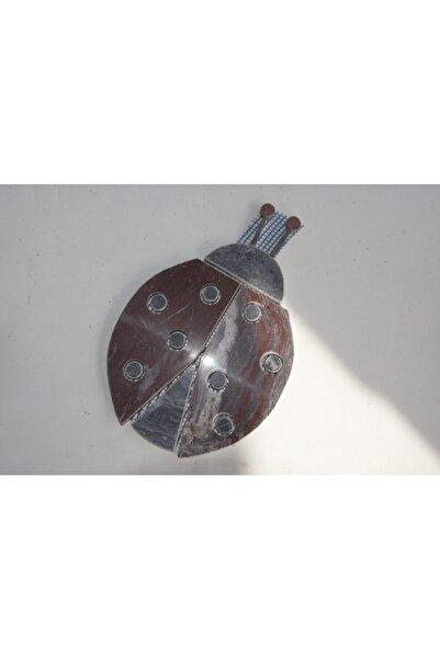 Omaş Mermer Mozaik Uğur Böceği 13×20 cm