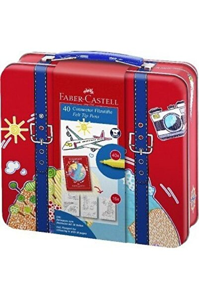 Faber Castell Eğlenceli Keçeli Kalem 40 Renk