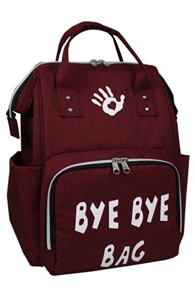 Bye Bye Paris Bag Anne Bebek Bakımçantası-bordo