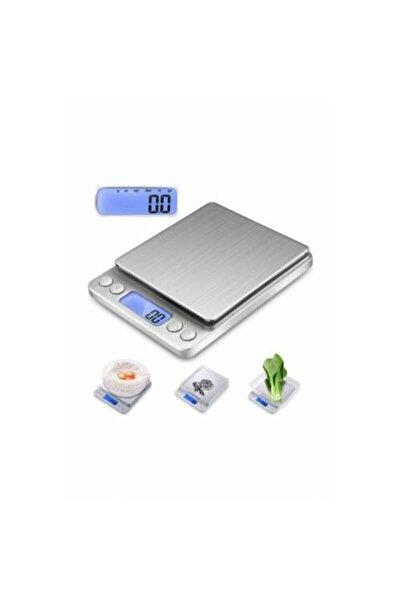 BigSale Mini Dijital Hassas Tartı-mutfak Terazisi Tartı Kuyumcu Tartısı 2000 gr