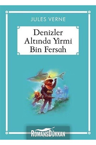 Arkadaş Yayınları Denizler Altında Yirmi Bin Fersah - Jules Verne -