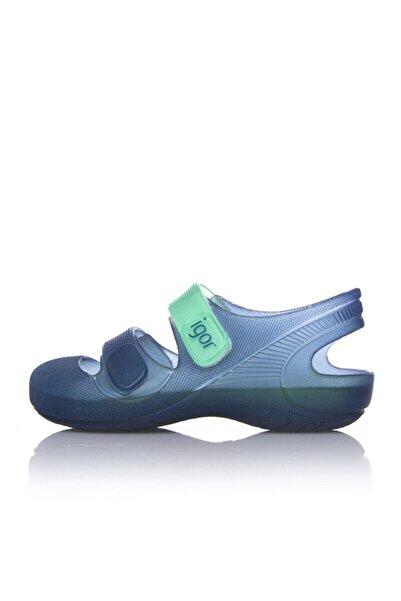 IGOR S10146 Bondi Bicolor Çocuk Mavi Yeşil Sandalet