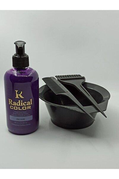 Radical Color Su Bazlı Saç Boyası Lila 250 Ml + Saç Boyası Kabı Seti