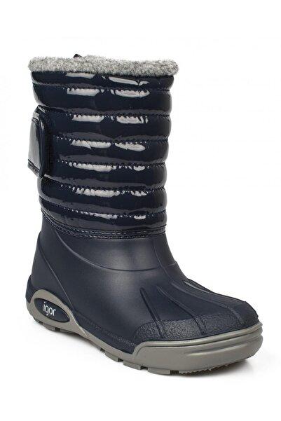 IGOR 10168k Topo Ski Charol Lacivert Çocuk Çizme