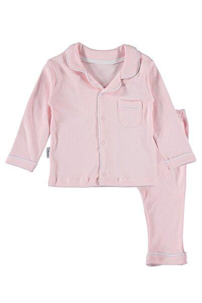 hepbaby Biyeli Bebek Pijama Takımı – Pembe – 9-18 Ay