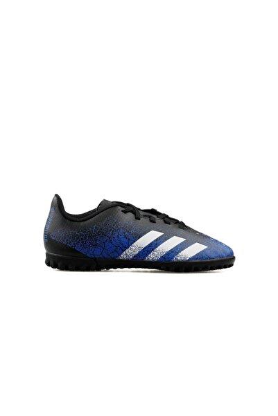 adidas Genç Halı Saha Ayakkabısı Fy0635 Siyah-mavi Predatör Freak .4 Tf J