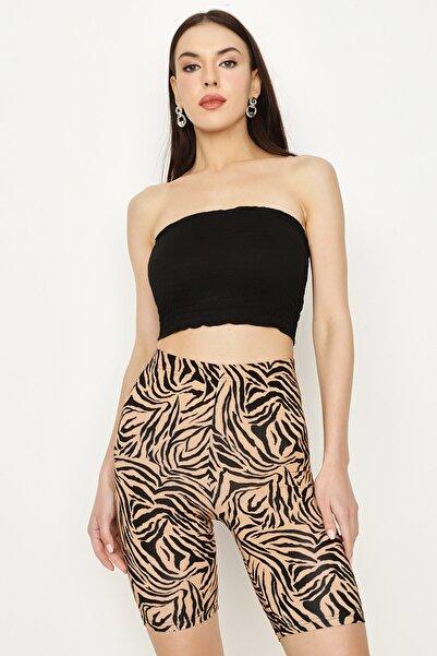 Select Moda Kadın Siyah Gipeli Büstiyer