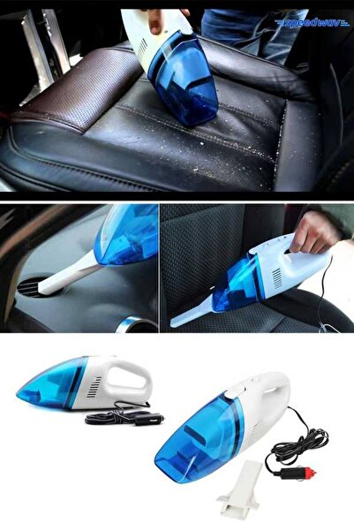 Raicon Araç Temizlik Süpürgesi Çakmaklık Girişli Oto Süpürge