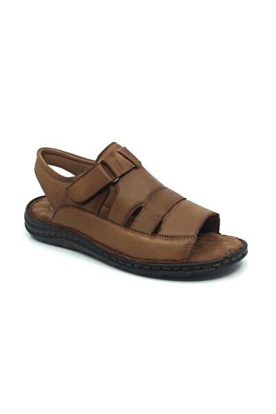 Taşpınar %100 Deri Ortopedik Erkek Terlik-sandalet 40-45
