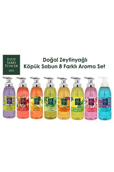 Eyüp Sabri Tuncer _ Köpük Sabun 500ml X 8 Aroma Set (doğal Zeytinyağlı)
