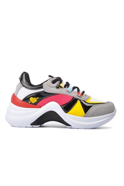 Twingo 601 Beyaz-nar Kadın Spor Ayakkabı