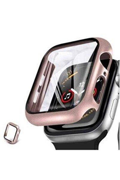 MAROX Apple Watch Series 3-4-5 42 Mm 360 Derece Koruma Rose Gold