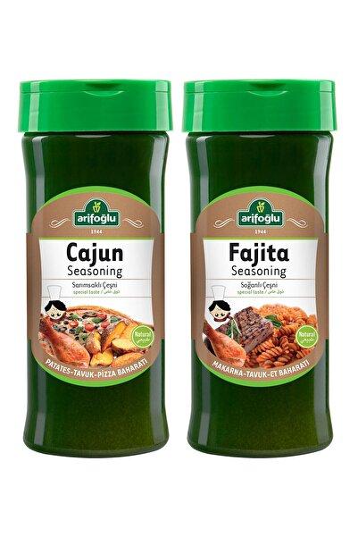 Arifoğlu Cajun Seasoning Pet 230gr + Fajita Seasoning Pet 230gr 2'li Set