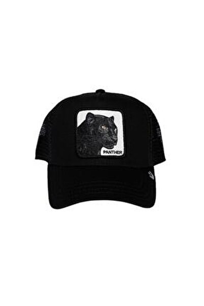 Unisex Siyah Panther Şapka