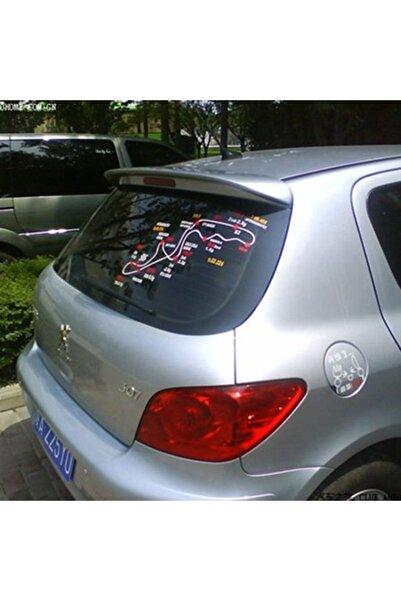 NamTuning Peugeot 307 Spoyler Plastik Boyasız Ithal Ürün
