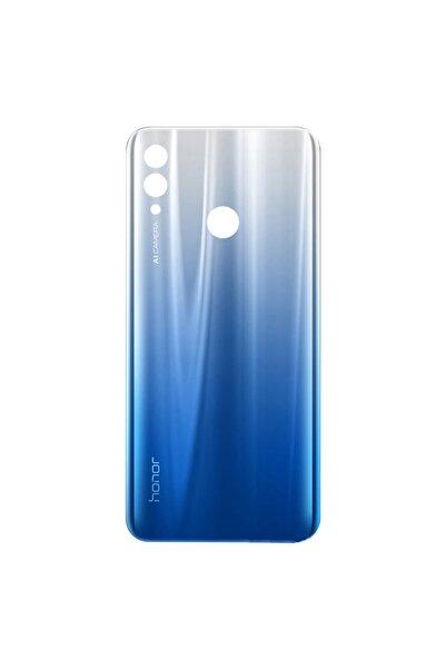 HONOR Huawei 10 Lite Için Plastik Batarya Kapağı - Aurora Mavisi