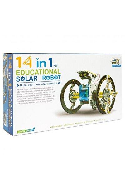 ebulduk Robot Eğitim Seti Solar Güneş Enerjili 14 In 1 Bilim Seti 14 Farklı Model