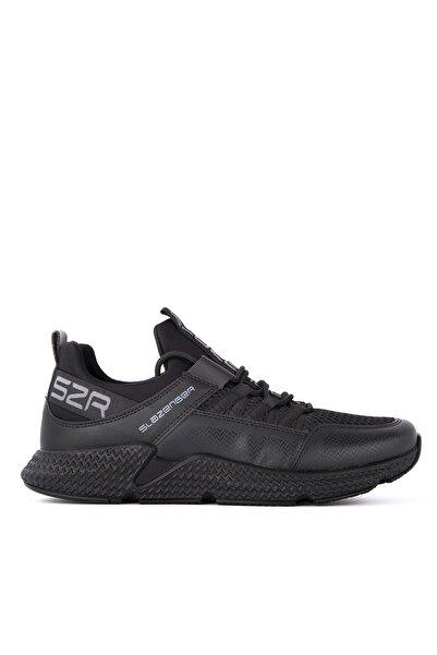 Slazenger Zafıra Sneaker Erkek Ayakkabı Siyah / Siyah Sa11re037