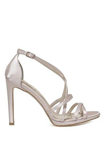 SATIN.Z 1FX Bej Kadın Topuklu Sandalet 101038375