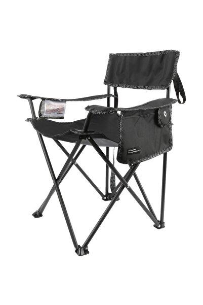 NORRFIKA Katlanır Pratik Kamp Sandalyesi Çok Amaçlı Cepli Kamp Piknik Bahçe Sandalyesi 17 546