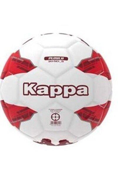 Kappa Beyaz Kırmızı Makina Dikişli Futbol Topu 5 Numara