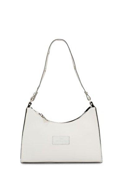 Kadın Beyaz Baguette Çanta 195