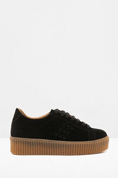 Koton Kadın Siyah Ayakkabı 8KAL21140AA