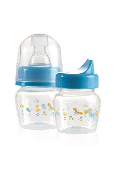 Bebedor Mini Bardak & Biberon 0-6 Ay 30 Ml Bebek Mavi 0-6 Ay