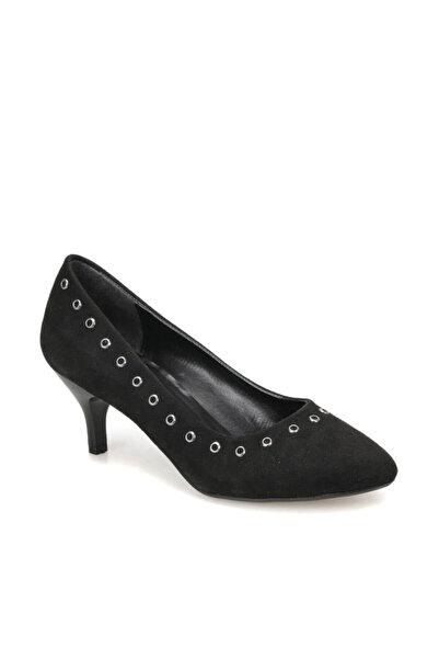 Miss F DW18038 Siyah Kadın Topuklu Ayakkabı 100340818