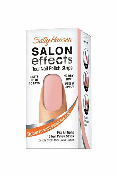 Sally Hansen Bant Oje Salon Effects Tu Tu Much 074170378894