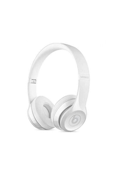 Beats Solo3 Wireless Kulaküstü Kulaklık Gloss Beyaz Mnep2ze/a