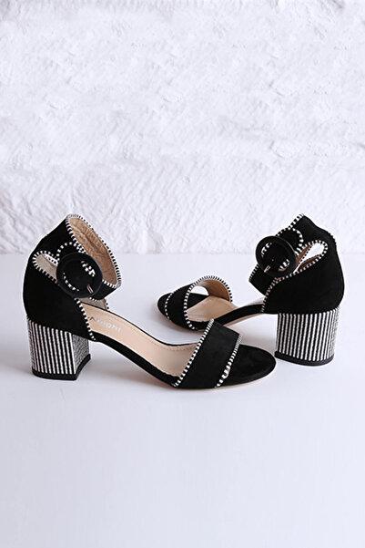 DayNnight Kadın Siyah Sandalet 15452