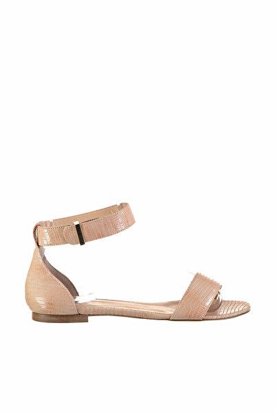 İnci Hakiki Deri Açık Pembe Kadın Sandalet 120130002146