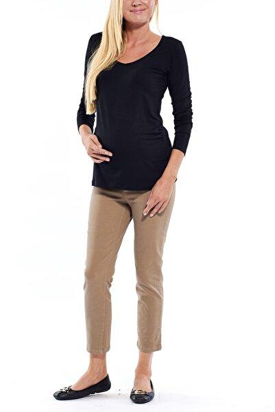Motherway Vizon Hamile Slimfit Kısa Paça Pantolon Pm213