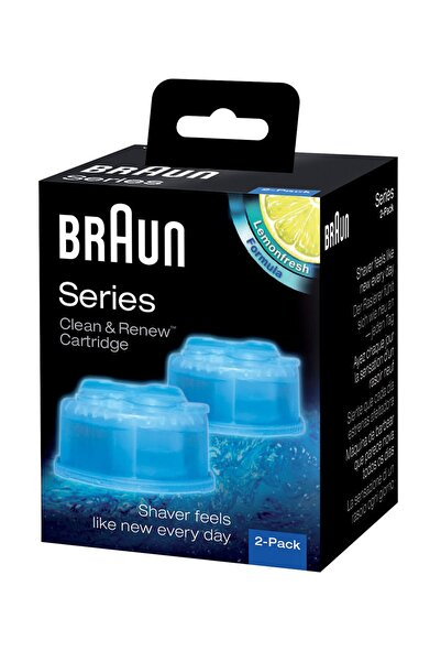 Braun Tıraş Makinesi Temizleme Sıvısı 2'li Paket CCR2 4210201382669