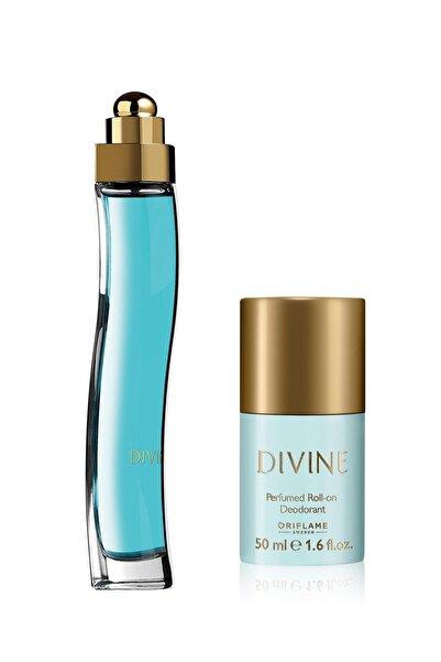 Oriflame Divine Edt + Roll-on Deodorant