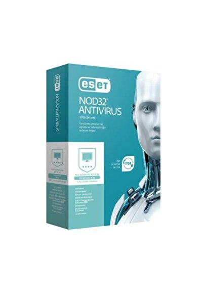 ESET NOD32 Nod32 Antivirüs V10 1 Kullanıcı 1 Yıl Kutu Lisans