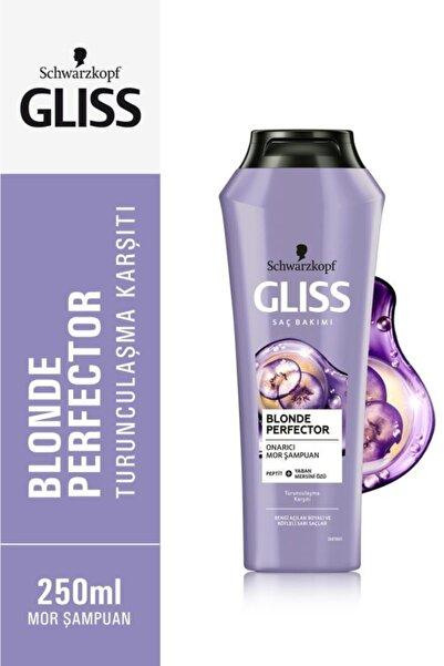 Gliss Schwarzkopf Blonde Perfector Turunculaşma Karşıtı Mor Şampuan 250 ml