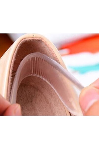 LUCKY Topuk Arka Bant Jeli Ayakkabı Vurma Engelleyici