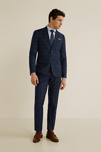 MANGO Man Erkek Gece Mavisi Pantolon 43030911